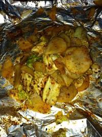 烤蔬菜_烤箱版的做法步骤5