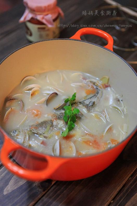 君之烘焙之蛋糕_黄鱼蛤蜊浓汤的家常做法 - 家常美食网