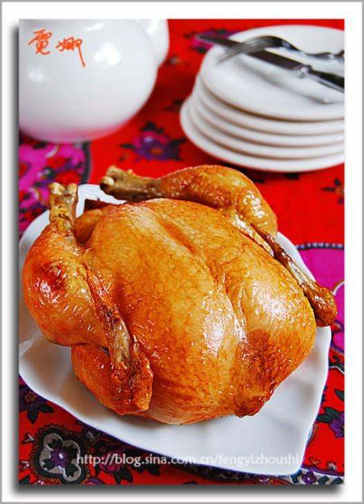 多汁烤嫩鸡的做法