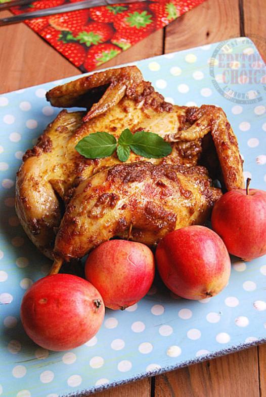 红咖喱烤鸡的做法