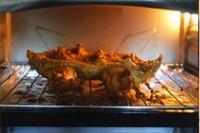 红咖喱烤鸡的做法步骤11