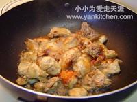 风味时蔬小炒鸡的做法步骤4