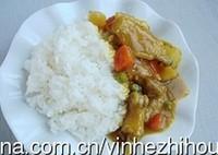 柚子酱咖喱鸡饭的做法步骤8