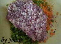 豆渣煎饺的做法步骤5