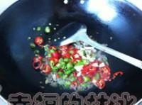 小炒豆渣的做法步骤2