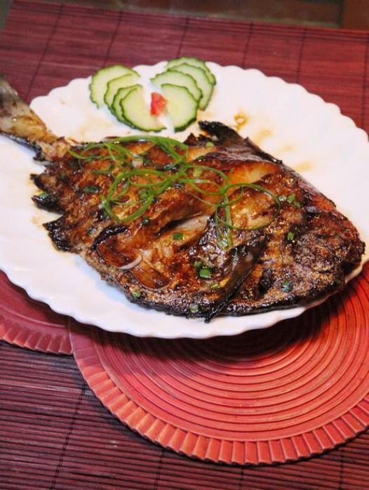 红烧做法的鲳鱼秦皇岛半成品菜品图片