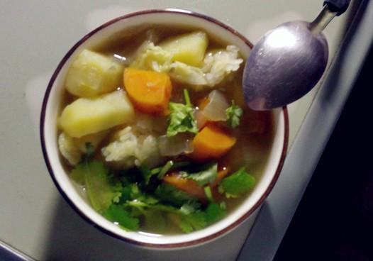 素汤的做法
