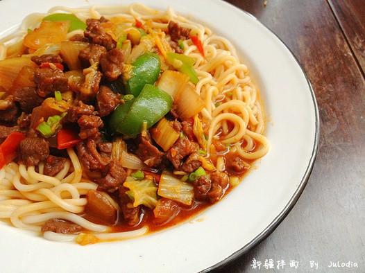 红烧排骨面的做法_新疆拌面的家常做法 - 家常美食网