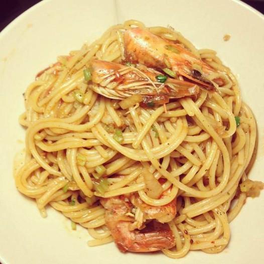 提供鲜虾意大利面的家常做法大全