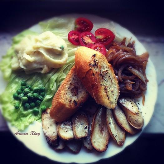 素食西餐的做法