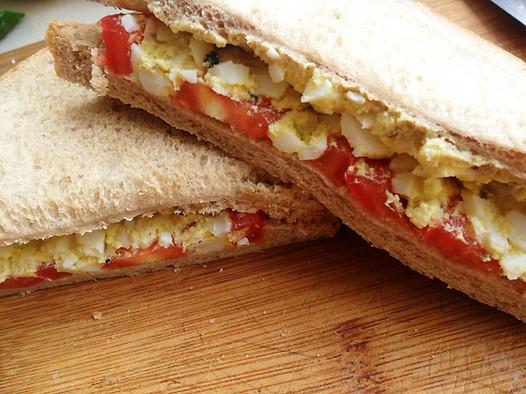 减肥甩肉三明治的做法