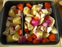 烤蔬菜沙拉的做法步骤2
