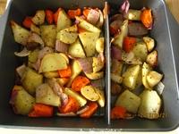 烤蔬菜沙拉的做法步骤3
