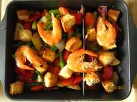 烤蔬菜沙拉的做法步骤4