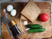 减肥甩肉三明治的做法步骤1