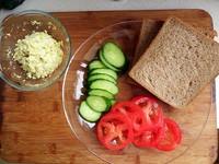 减肥甩肉三明治的做法步骤4