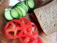减肥甩肉三明治的做法步骤5