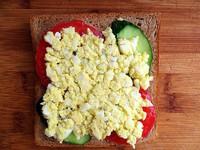 减肥甩肉三明治的做法步骤6