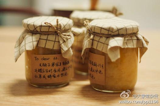 柚子果浆的做法
