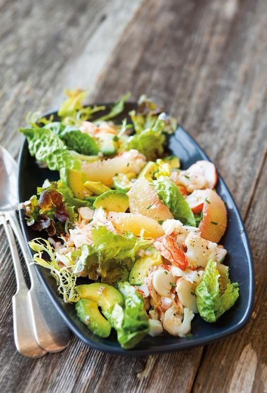 龙虾沙拉配葡萄柚鳄梨的做法 怎么做龙虾沙拉