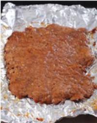猪肉脯的做法步骤5