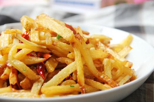 干煸土豆丝 做法 美食/家常美食小贴士: