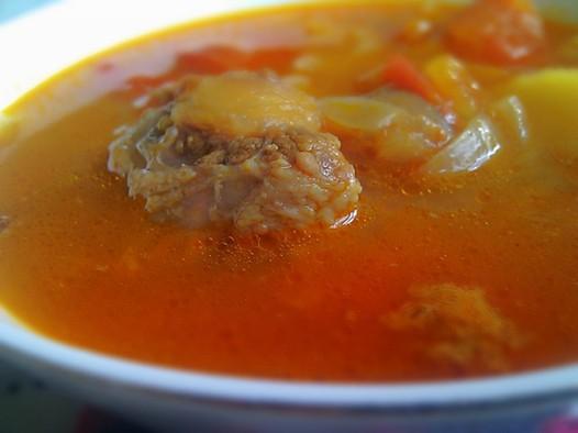 美食菜谱汤的做法番茄广东牛尾英文图片