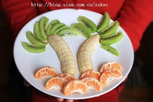 家庭水果拼盘-椰风果盘的做法