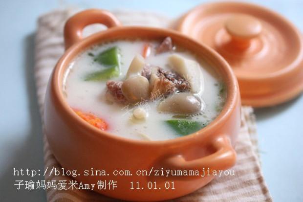 """电饭锅版""""芋头的做法 茶树菇大骨汤的做法 筒骨粥的做法"""