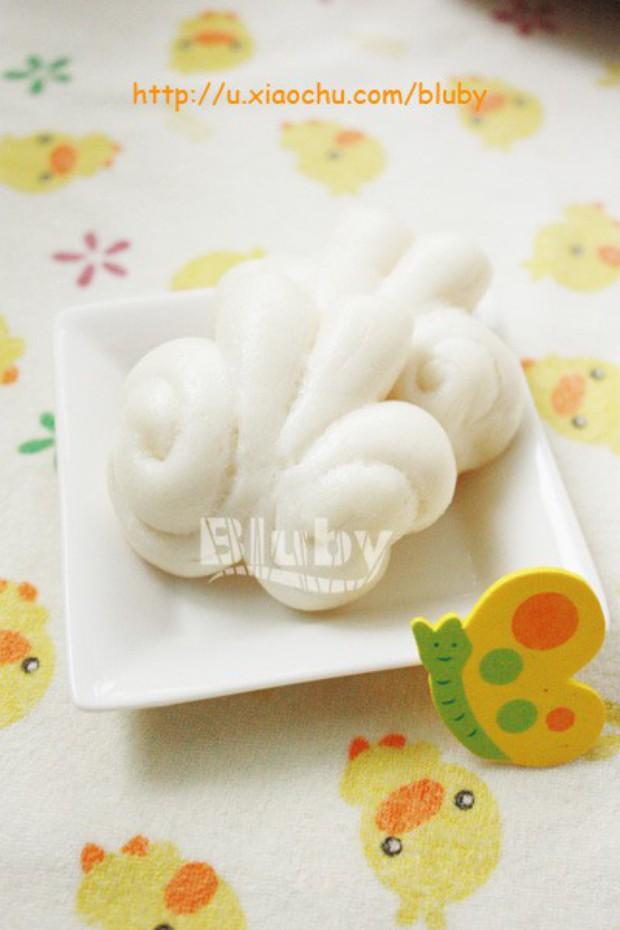 奶香蝴蝶馒头的做法