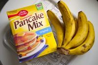 香蕉松饼的做法步骤1