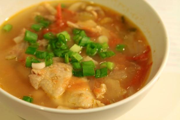 什锦蔬菜鸡汤的做法