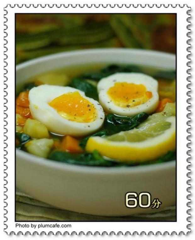 杂蔬鸡汤的做法
