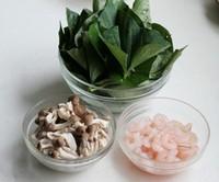 虾仁鸡汤煮红薯叶的做法步骤1