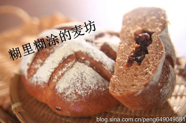 酒酿桂圆面包的做法