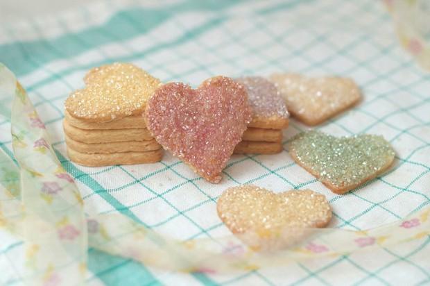 彩色砂糖饼干的做法