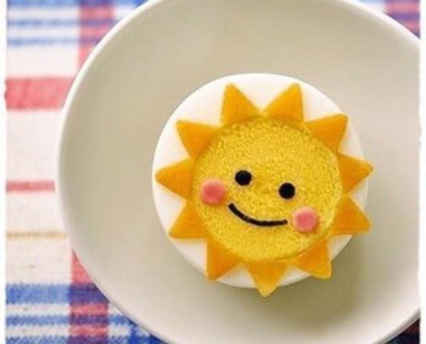 便當菜水煮蛋太陽公公的做法_怎麼做便當菜水煮蛋 ...