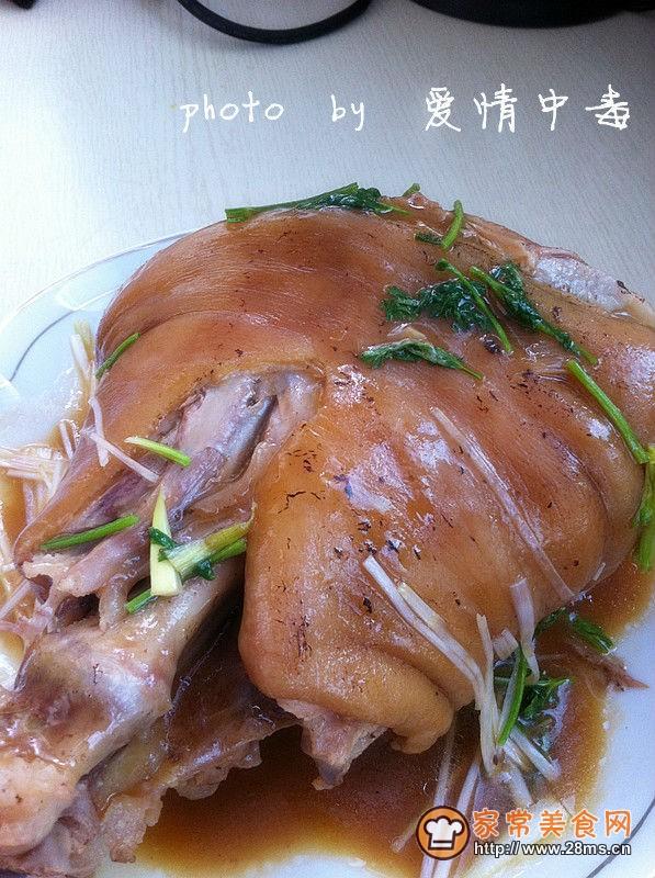 中华美食特色菜谱_红烧肘子的家常做法 - 家常美食网