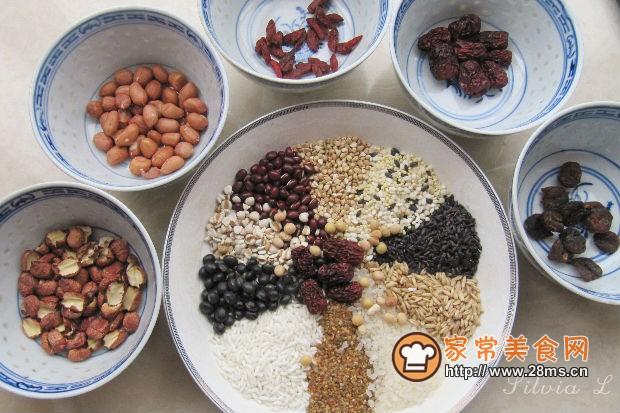 健康养生五谷杂粮粥的做法