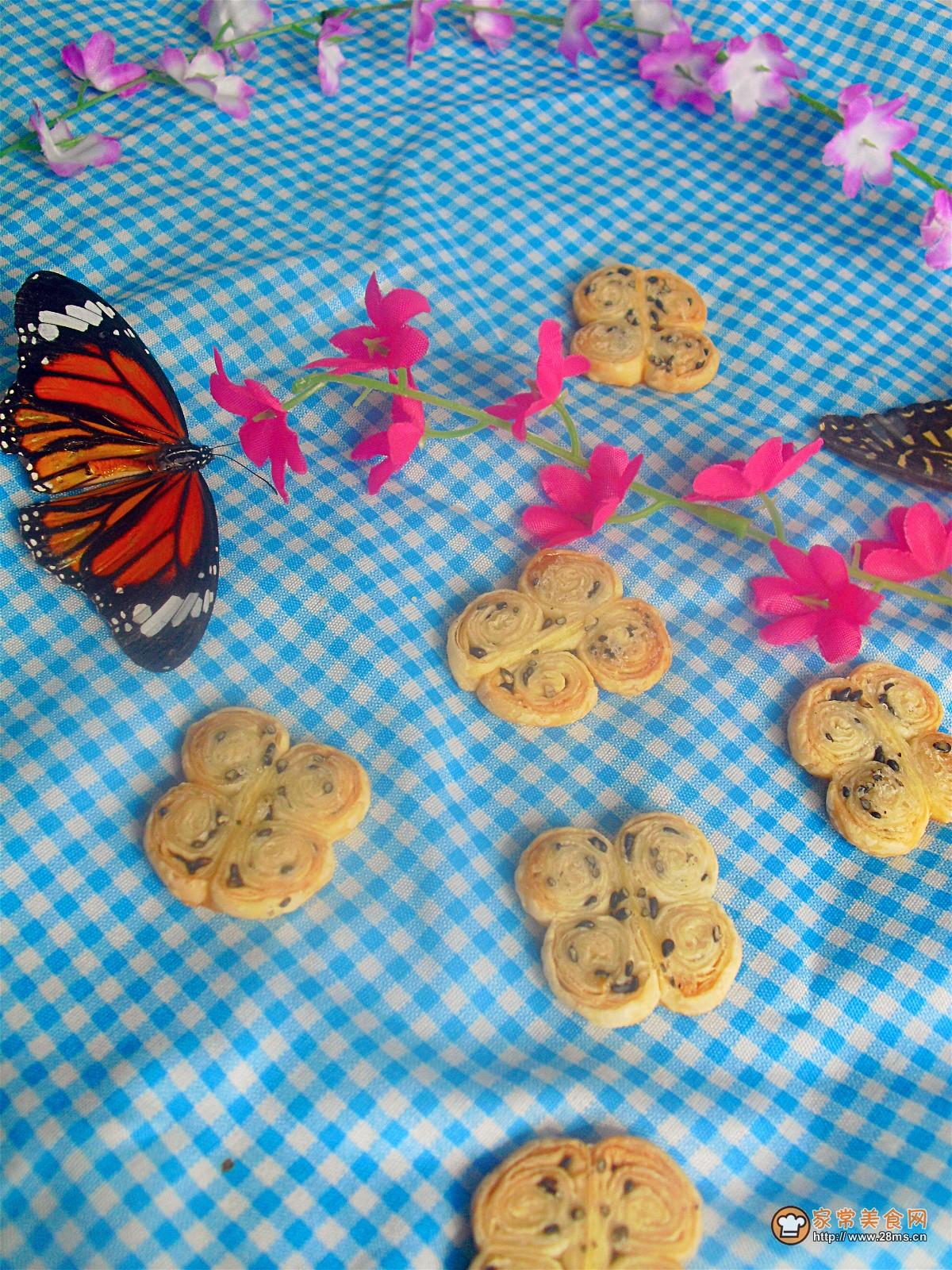 蝴蝶酥的做法