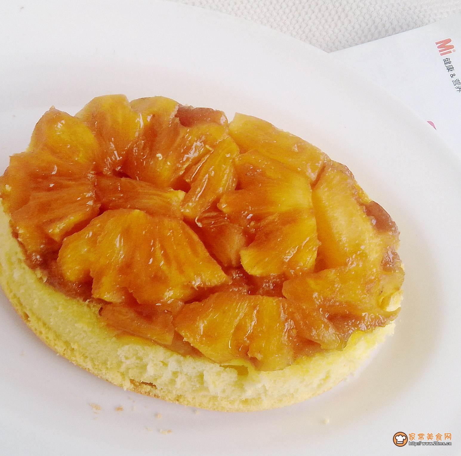 反转菠萝蛋糕的做法_怎么做反转菠萝蛋糕图片