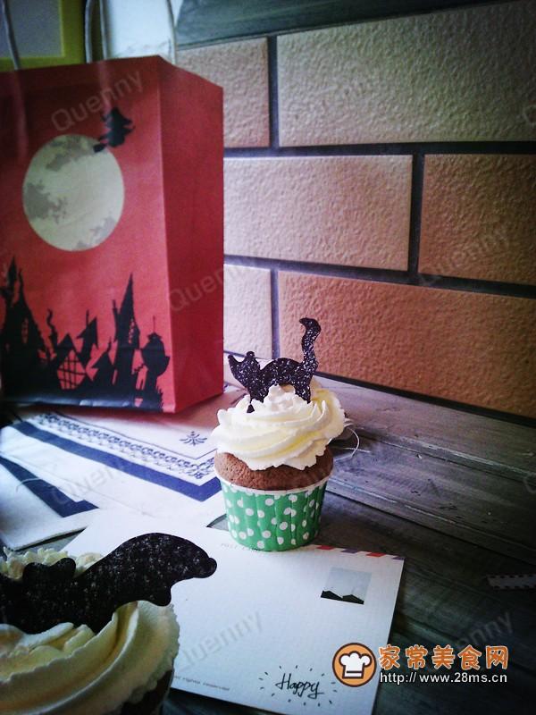 万圣节装饰小蛋糕的做法图片