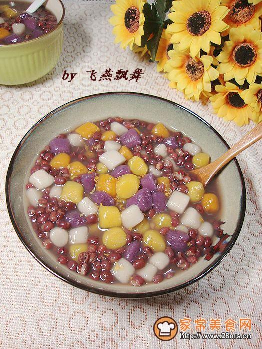 台湾小吃红豆芋圆的做法