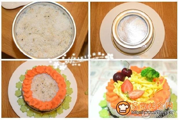 日式米饭蛋糕的做法图片