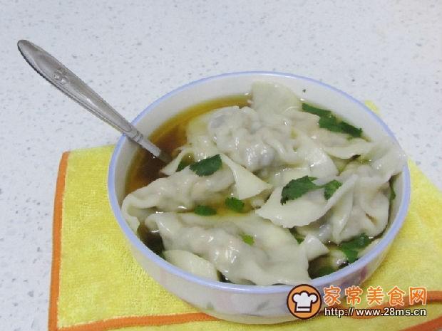 猪肉三鲜水饺的做法
