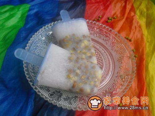 夏日冰品:绿豆冰棍