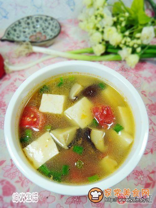 三鲜豆腐汤的做法