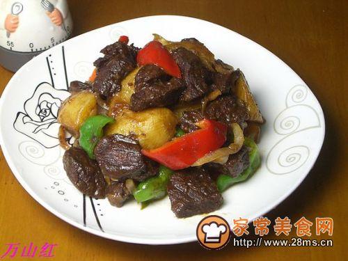 土豆焖牛腩的做法