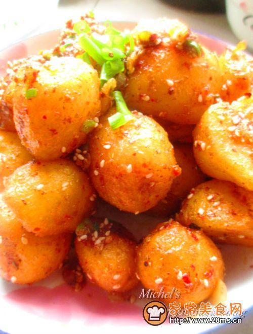 麻辣小零嘴儿锅巴土豆的做法大全 麻辣小零嘴