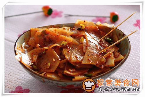 凉拌麻辣土豆片的做法